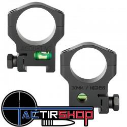 Colliers Accu-Tac 30mm avec niveau à bulle sur Tactirshop