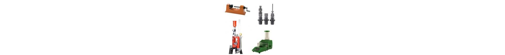 Découvrez notre stock important de matériels et de composant de rechargements.