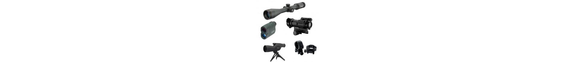 Une sélection de lunette de tir et de point rouge de qualité sur tactirshop.