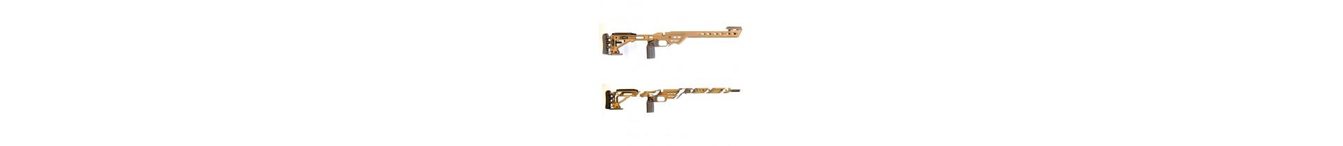 Une sélection de châssis carabine sur Tactirshop
