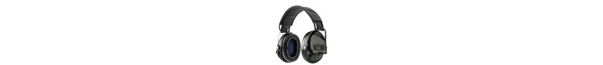 Une sélection de casques anti-bruits et bouchons sur Tactirshop